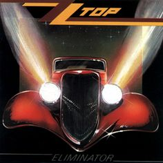 """Got me under pressure from ZZ Top. From the album Eliminator. """"Got Me Under Pressure"""" is song by ZZ Top from their 1983 album Eliminator. The song was produc. Billy Gibbons, Greatest Album Covers, Rock Album Covers, Classic Album Covers, Rock And Roll, Pop Rock, Blues Rock, Vinyl Lp, Vinyl Records"""