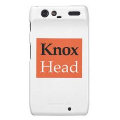 """Droid RAZR PhoneCase Synchronized Swim - Knox Head Droid RAZR Cases - If you ever had to prepare your hair for synchronized swimming, then you know about """"Knox Head"""". Wrap your Razr with this for your next meet or buy it for that someone special who supports you from the bleachers!"""