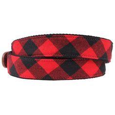 4943014fc1e0 Rob Roy Tartan Leather Tab Belt. Grosgrain RibbonRibbon BeltEdge  StitchTartanBrass BucklePreppingCountryClubLeather
