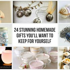 With 24 stunning gift ideas you'll find plenty of inspiration for your loved ones, but don't forget about yourself when checking out this great post. The good news is making multiples of these gifts is easy. So spoil yourself…and I suppose everyone you know too with these fun and chic...