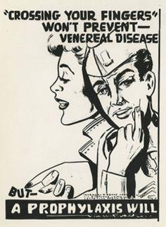 Wartime Venereal Disease Propaganda Posters - Mandatory