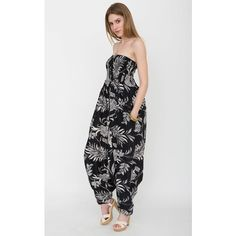 52426cdba7f4 likemary 2 in 1 Maxi Harem Pants and Jumpsuit in Florals Print ( 35) ❤