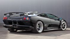 If you've some particularly generous aunts, you might have enough Christmas money still knocking around to buy a nice new car. If that is the case, may we point you towards TopCar and its wondrous Diablo? It is, however, no ordinary Diablo. This is a Lamborghini Diablo GT, the maddest and most hardcore of all the road-going Diablos. No smallclaim. You can thank a larger 6-litre V12 engine, rear-wheel drive (standard Diablos were AWD) and a superbly aggressive body kit forthat.