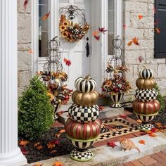20 Elegant Ways to Decorate Your Outdoor for Fall