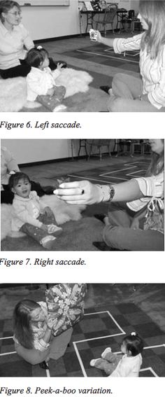 Infant Vision Guidance:Fundamental Vision Development in Infancy by Dr. Valenti, OD, FCOVD   This paper reviews general stages of infant vision dvlpmt w specific emphasis on envt'l factors affecting emergence of basic vision functions (VA,pursuits,saccades, binocularity&visual perception). Vision guidance/optometric vision therapy activities are explained/demo'd to educate/guide parents in playful interactions w their child. Activities suited from birth to age three.