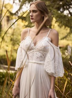 Costarellos Bridal Fall 2018 Collection BR18-19