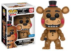 Five Night at Freddy's: Toy Freddy Pop figure by Funko, Walmart exclusive