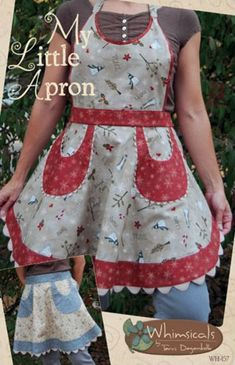 Girls in the Garden: apron