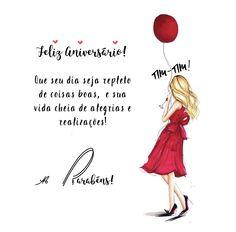 Happy Day, My Books, Birthdays, Happy Birthday, Movie Posters, Portuguese, Birthday Msg, Birthday Wishing Quotes, Happy Birthday Images