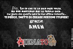 #aIENAto #Dio #idioti