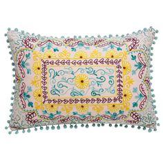 Cuscino multicolore in cotone 35x50cm | Maisons du Monde