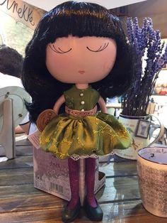 Disney Characters, Fictional Characters, Dolls, Disney Princess, Art, Crafts, Caricature, Craft Art, Puppet