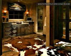 Rustic And Western Design. I want my bathroom to look like this! One day?!