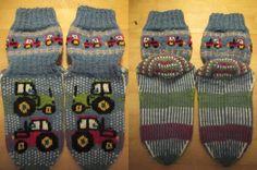 Knitting Socks Children Tractors Drops Fabel Knitting Projects, Knitting Socks, Tractors, Drop, Children, Barn, Knit Socks, Young Children, Boys