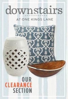 One Kings Lane clearance