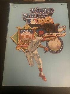 1981 LOS ANGELES DODGERS - N Y YANKEES WORLD SERIES PROGRAM | eBay World Series Winners, Yankees World Series, Los Angeles Dodgers, Baseball Cards, Ebay, Dodgers Baseball