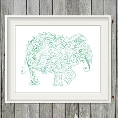 Art couldn't be easier! Simply print and enjoy! Green Originals Prints & Paper Goods are hand drawn, digitized and colorized to create a one of a