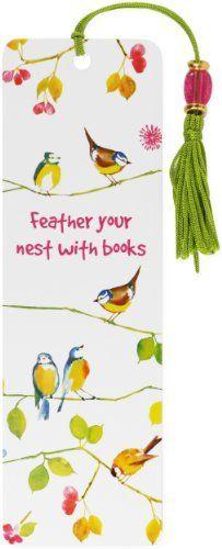 Watercolor Birds Beaded Bookmark by Peter Pauper Press, http://www.amazon.co.uk/dp/1441305327/ref=cm_sw_r_pi_dp_UckMtb0E2GP8Y