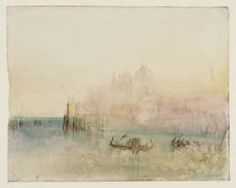 Joseph Mallord William Turner 'Venice: Santa Maria della Salute from the Bacino', 1840