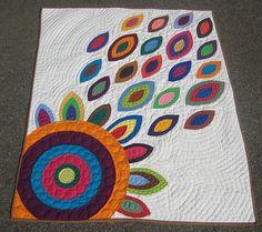 Gorgeous modern quilt