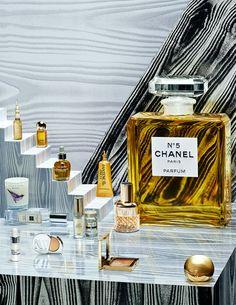 Photographer Jess Bonham and set designer Anna Lomax for Vogue UK, October 2013