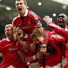 1999: Manchester United won the treble!