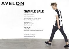 Avelon Sample Sale -- Amsterdam -- 30/05-31/05