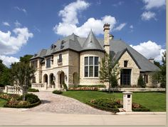 French style mansion, Dallas