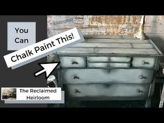 Create a Faux Wood Grain with Chalk Paint and glaze by blending using meshing technique. In this tutorial, you can create a faux plank wood effect using chal. Chalk Paint Brushes, Using Chalk Paint, Tape Painting, Painting On Wood, Furniture Painting Techniques, Furniture Cleaner, Annie Sloan Chalk Paint, Furniture Restoration