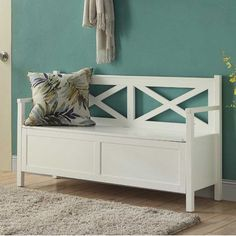 You'll love the Washington Storage Entryway Bench at Wayfair - Great Deals on all Furniture  products with Free Shipping on most stuff, even the big stuff.