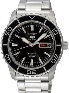 Seiko SNZH55 SNZH55K SNZH55K1 Automatic Sports 5 Watch $149