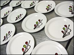 chocolate plate designs | Chocolate design for a dessert for a banquet. | Flickr - Photo Sharing ...