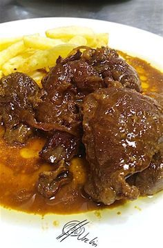 Pork Recipes, Mexican Food Recipes, Cooking Recipes, Guisado, Easy Dinner Recipes, Easy Meals, Spanish Dishes, Malaysian Food, Slow Food