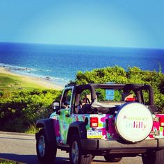 Lilly Jeep hits the beach