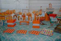 """Photo 1 of 12: Circus / Baby Shower/Sip & See """"Noah's Circus Baby Shower""""   Catch My Party"""