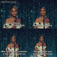 B rainha não é mesmo? Pretty Hurts Beyonce, Dark Words, Lgbt, Sad Wallpaper, Little Bit, All About Music, Piece Of Music, My Vibe, Beyonce Knowles