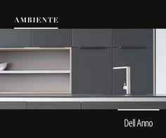 Os móveis monocromáticos podem ser a base de uma cozinha sofisticada.