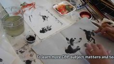 Frog Rides on a Koi Goldfish in Chinese Brush Painting Hands-on Workshop