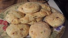 Chive, cheddar & bacon biscuits. I also suggest making a from scratch biscuit recipe. They were great!