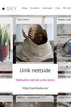 Unik nettside - en unik nettbutikk.  For å se flere sider, klikk http://ragnhildhannoschock.no