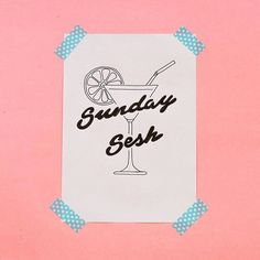 bring it on!    #sundaysesh #typography #handlettering #type #handwriting #signature #logo #photography #cute #graphicdesign #art #pastell #color #pink #bykajahoglund #typebykajahoglund #typebykaja