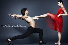 Ivan Vasiliev & Natalia Osipova - Vogue