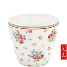 Greengate latte cup Claire multicolour