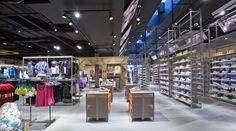 Sportmaster flagship store by Riis Retail, Kolding   Denmark sports