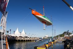 Launch of Groupama 4 to Itajai! / Groupama in the Volvo Ocean Race