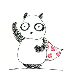 【一日一大熊猫】2017.1.29 ウイングスーツという手と足の間に布を張ったムササビみたいな状態で飛ぶスポーツがあるんだね。 最高速度が200キロとかになるとか。。。 #パンダ #ウイングスーツ