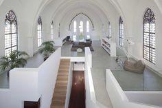 house in a church