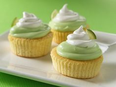 Mini Key Lime Cupcakes via Flickr Betty Crocker Photostream