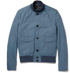 Hardy Amies - Cotton Bomber Jacket|MR PORTER