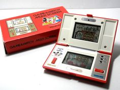 Nintendo Game & Watch Mickey & Donald DM-53 Boxed Excellent Condition MIJ F/S_95 #Nintendo